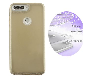 Colorfone BackCover Layer Huawei Y7 2018 Goud