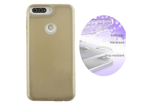 BackCover Layer Huawei Y7 2018 Goud