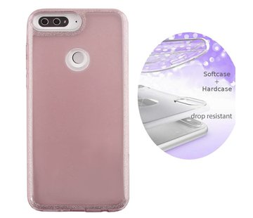 Colorfone BackCover Layer Huawei Y7 2018 Roze