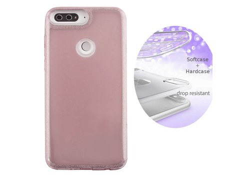 BackCover Layer Huawei Y7 2018 Roze