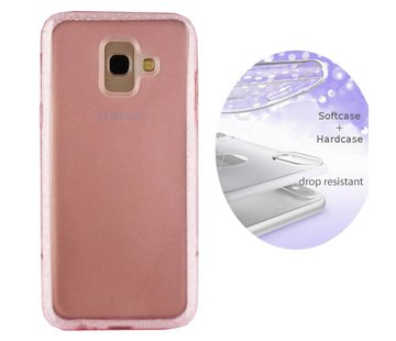 Colorfone BackCover Layer Samsung A6 2018 Roze