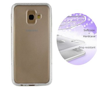 Colorfone BackCover Layer Samsung A6 Plus 2018 Zilver