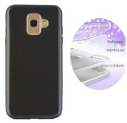 Colorfone BackCover Layer Samsung A6 Plus 2018 Zwart