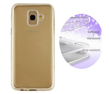 Colorfone BackCover Layer Samsung A6 Plus 2018 Goud
