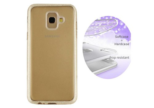 BackCover Layer Samsung A6 Plus 2018 Goud
