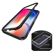 Colorfone iPhone 6 and 6S Black Case with free Screenprotector - Magnet
