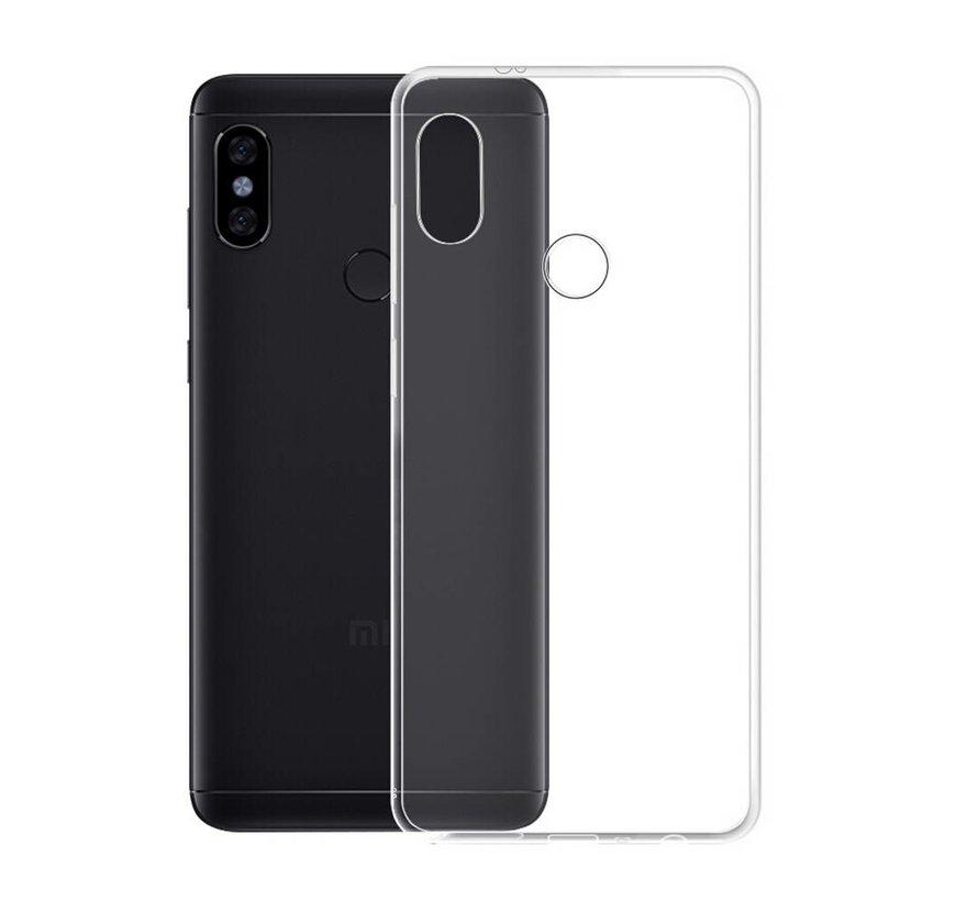 Xiaomi Mi 8 Siliconen Hoesje Transparant - CoolSkin3T