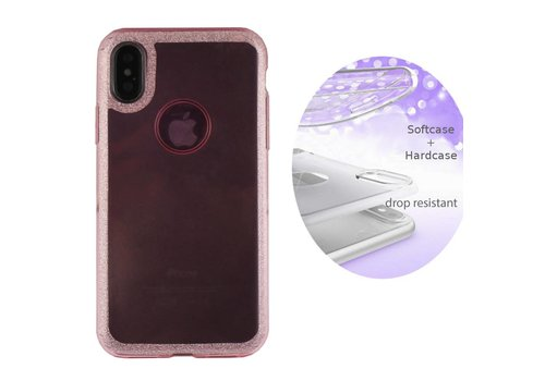 BackCover Layer Apple iPhone X/Xs Roze