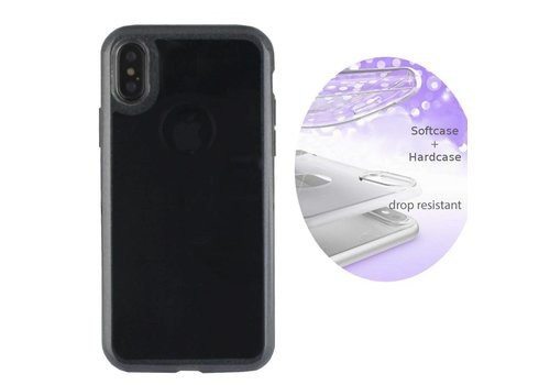 BackCover Layer Apple iPhone X/Xs Zwart
