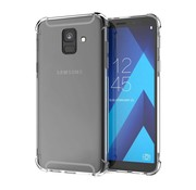 Colorfone Samsung A6 Plus 2018 Hoesje Transparant - Shockproof