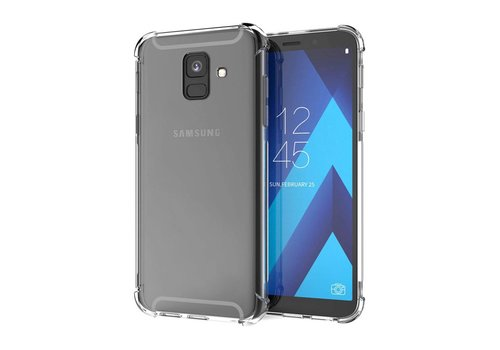 Backcover Shockproof Samsung A6 Plus 2018 Transparant