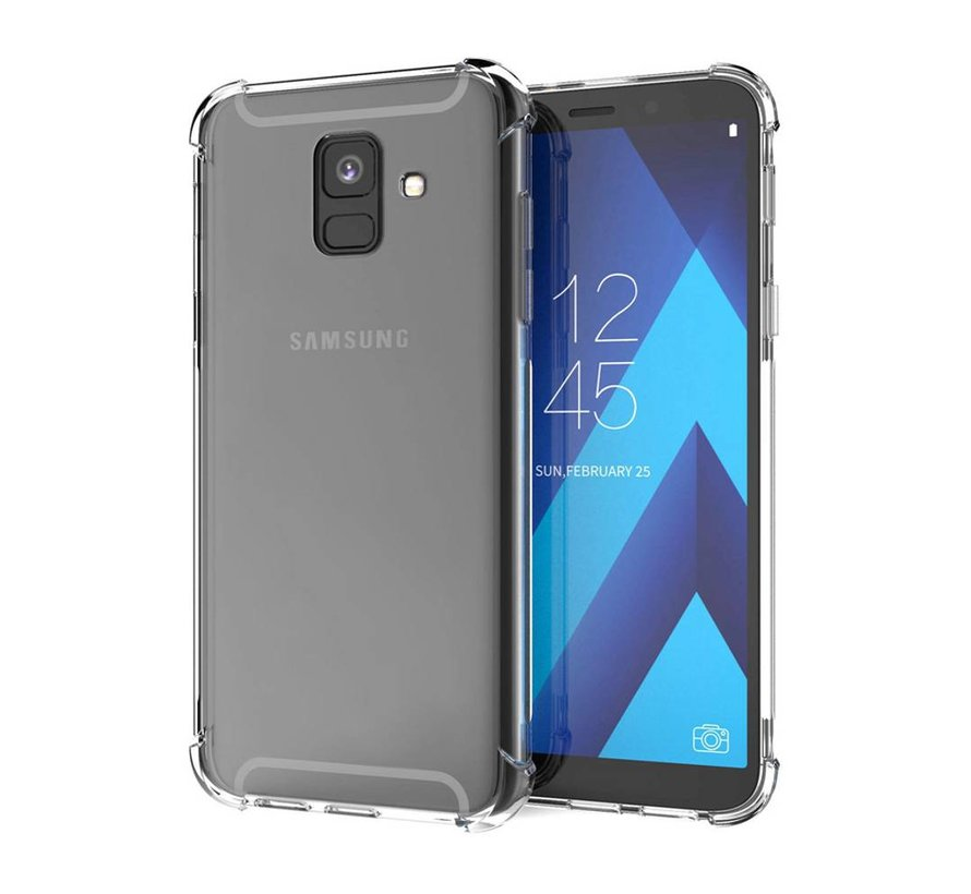 Samsung A6 Plus 2018 Hoesje Transparant - Shockproof