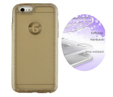 Colorfone BackCover Layer Apple iPhone 8 Plus - 7 Plus Goud