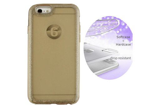 BackCover Layer Apple iPhone 8 Plus - 7 Plus Goud