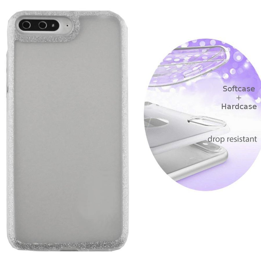 BackCover Layer TPU + PC Huawei Y5 2018 Zilver