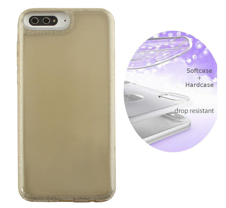 BackCover Layer TPU + PC Huawei Y5 2018 Goud