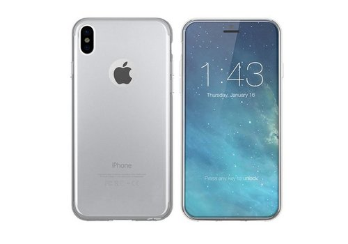 CoolSkin3T iPhone Xs Transparent White