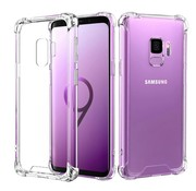 Colorfone Samsung S9 Hoesje Transparant - Shockproof