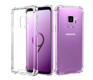 Colorfone Samsung S9 Hoesje Transparant - Shockproof