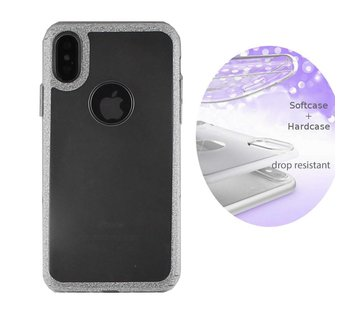 Colorfone BackCover Layer Apple iPhone X - Xs Zilver