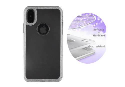 BackCover Layer Apple iPhone X/Xs Zilver