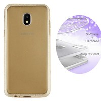 BackCover Layer TPU + PC voor Samsung J5 2017 Goud