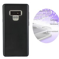 BackCover Layer TPU + PC voor Samsung Note 9 Zwart