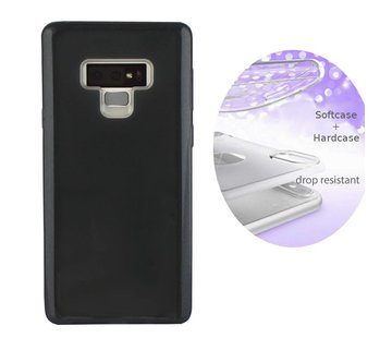 Colorfone BackCover Layer Samsung Note 9 Zwart