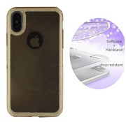 Merkloos BackCover Layer Apple iPhone X - Xs Goud