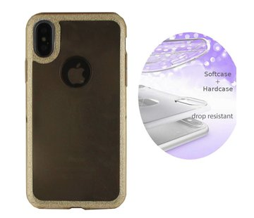 BackCover Layer Apple iPhone X - Xs Goud