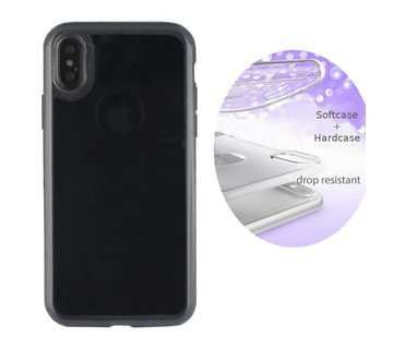Colorfone BackCover Layer Apple iPhone Xs Max Zwart