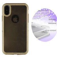 BackCover Layer TPU + PC Apple iPhone Xs Max Goud