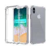 Colorfone Backcover Shockproof iPhone Xs Max Transparant