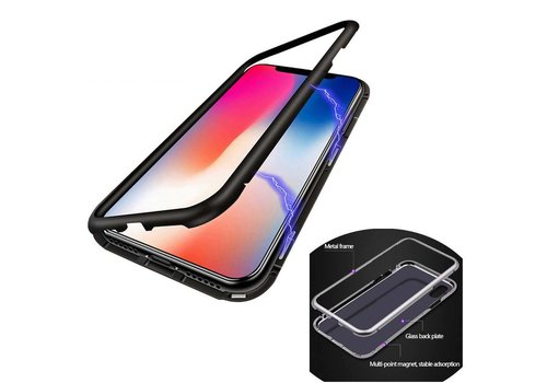 BackCover Magnet iPhone Xs Max Black FREE Screen Protector