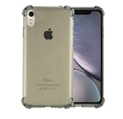 Colorfone Backcover Shockproof TPU 1.5mm iPhone Xr Transparant Zwart