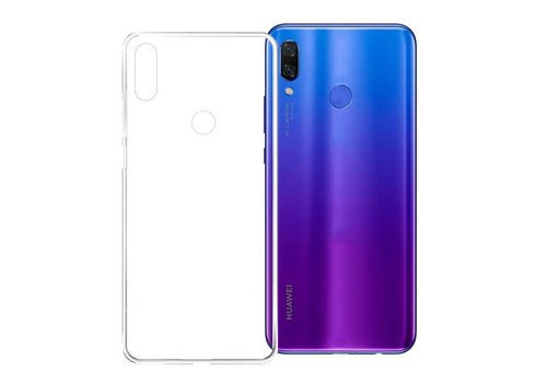 CoolSkin3T Huawei P Smart Plus / Nova 3i Transparant Wit