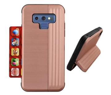 Colorfone Card Stand Samsung Note 9 Rose Goud