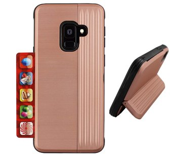 Colorfone Card Stand Samsung J6 2018 Rose Goud