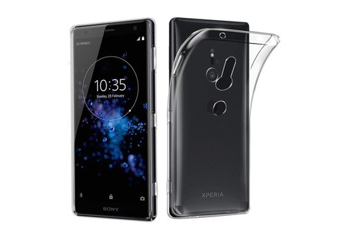 CoolSkin3T Sony Xperia XZ3 Transparant Wit
