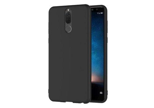 Huawei Mate 10 Lite  Hoesje Zwart CoolSkin Slim