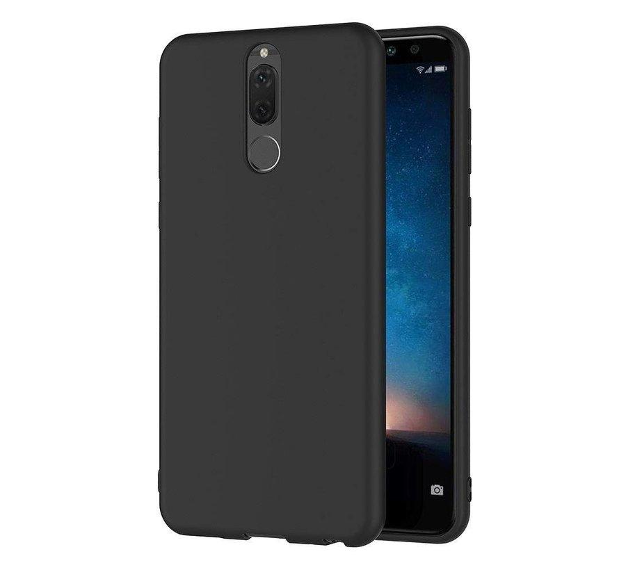 Huawei Mate 10 Lite Siliconen Hoesje Zwart - CoolSkin Slim