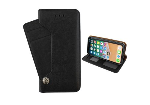 Wallet Deluxe iPhone Xs Max Black