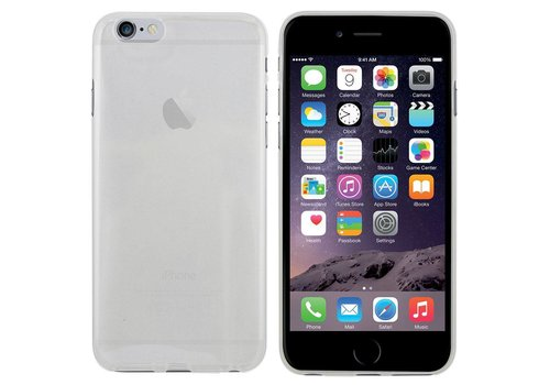 CoolSkin3T iPhone 6 Plus Transparant Wit