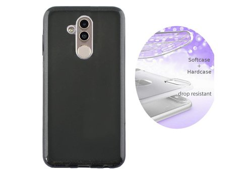 BackCover Layer Huawei Mate 20 Lite Zwart