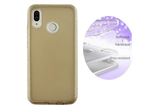 BackCover Layer Huawei P Smart Plus / Nova 3i Goud