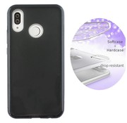 Colorfone BackCover Layer Huawei P Smart Plus - Nova 3i Zwart