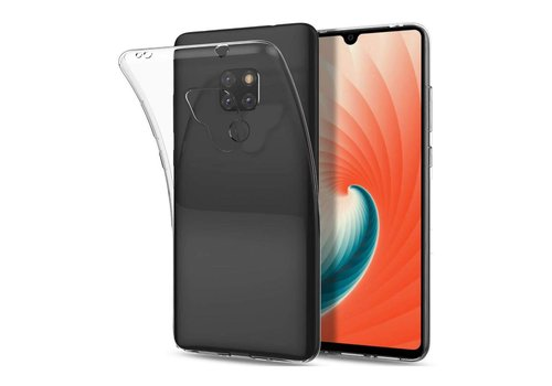 Huawei Mate 20 Hoesje Transparant CoolSkin3T