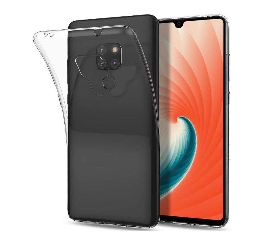 Huawei Mate 20 Hoesje Transparant - CoolSkin3T