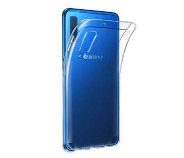 Colorfone Samsung A7 2018 Hoesje Transparant CoolSkin3T