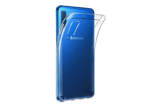 Samsung A7 2018 Hoesje Transparant CoolSkin3T